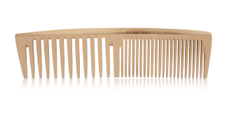 wooden comb 1A styling comb
