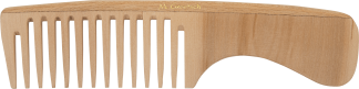 wooden handle comb