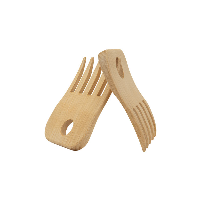 Spaghetti lifter made of beech wood
