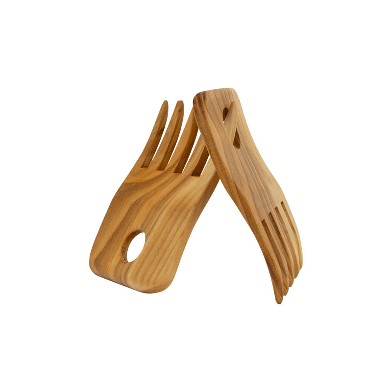 Cherry wood spaghetti lifter