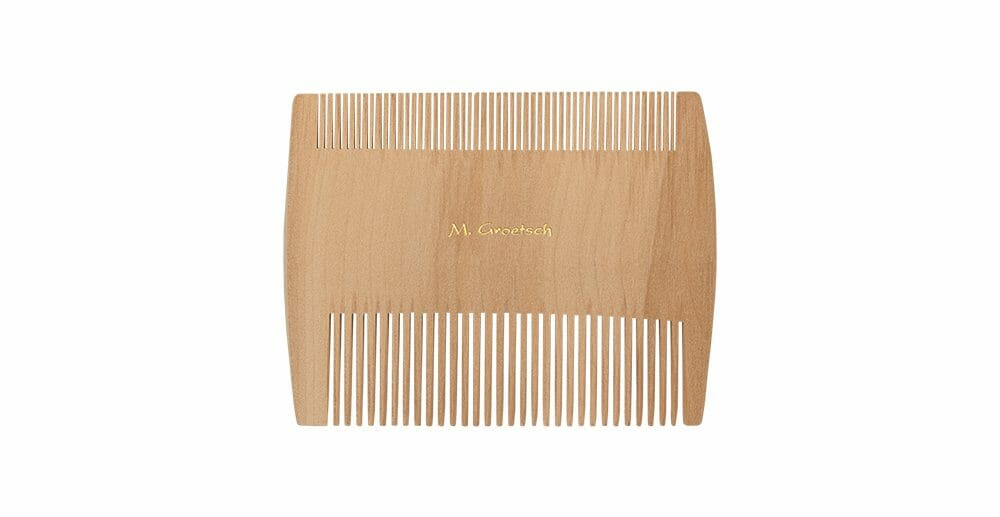 wooden comb fine extrafine